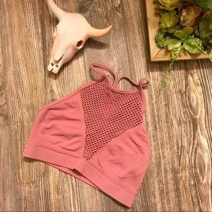 {victoria sport} mauve blush pink sports bra s